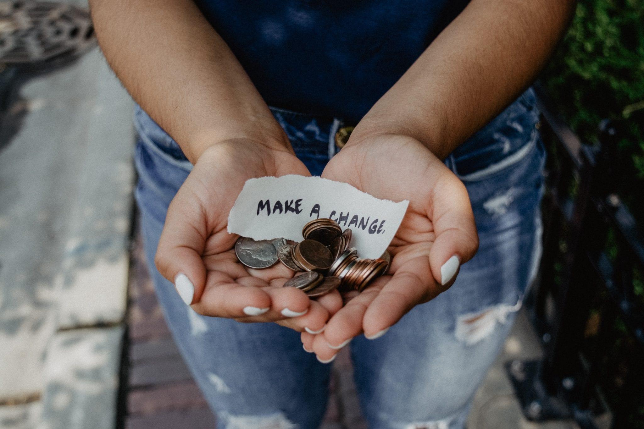 conseguir fondos para la caridad