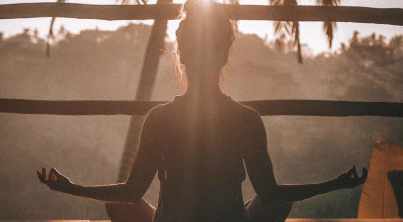 Siempre es libre de meditar en eventos de bienestar.