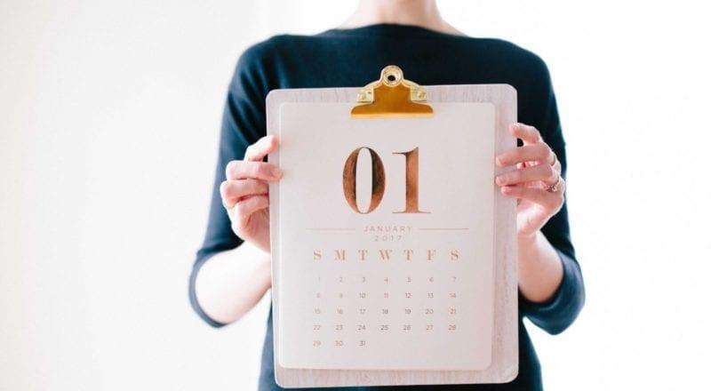 Cómo elegir la fecha de un evento