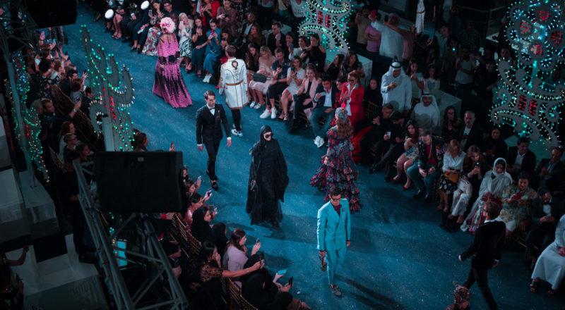 Planificar un desfile de modas